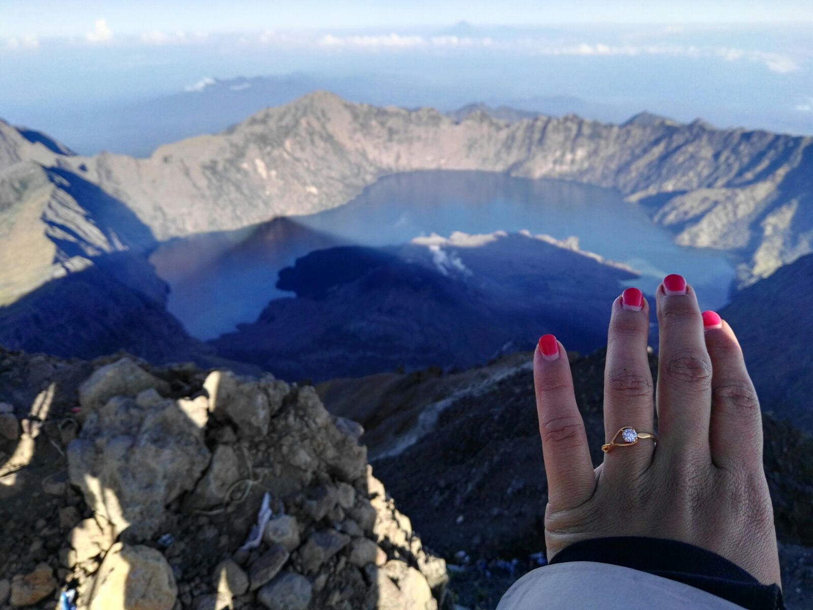Get Marriage in Rinjani Summit