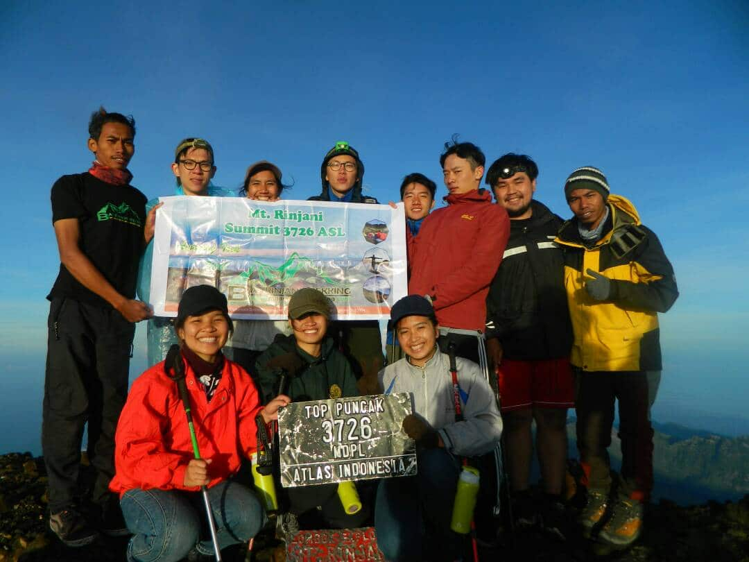 Rinjani Trekking 2 Days (Sharing)