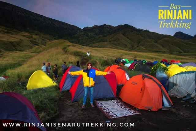 Rinjani Trekking 3 Days (Sharing)