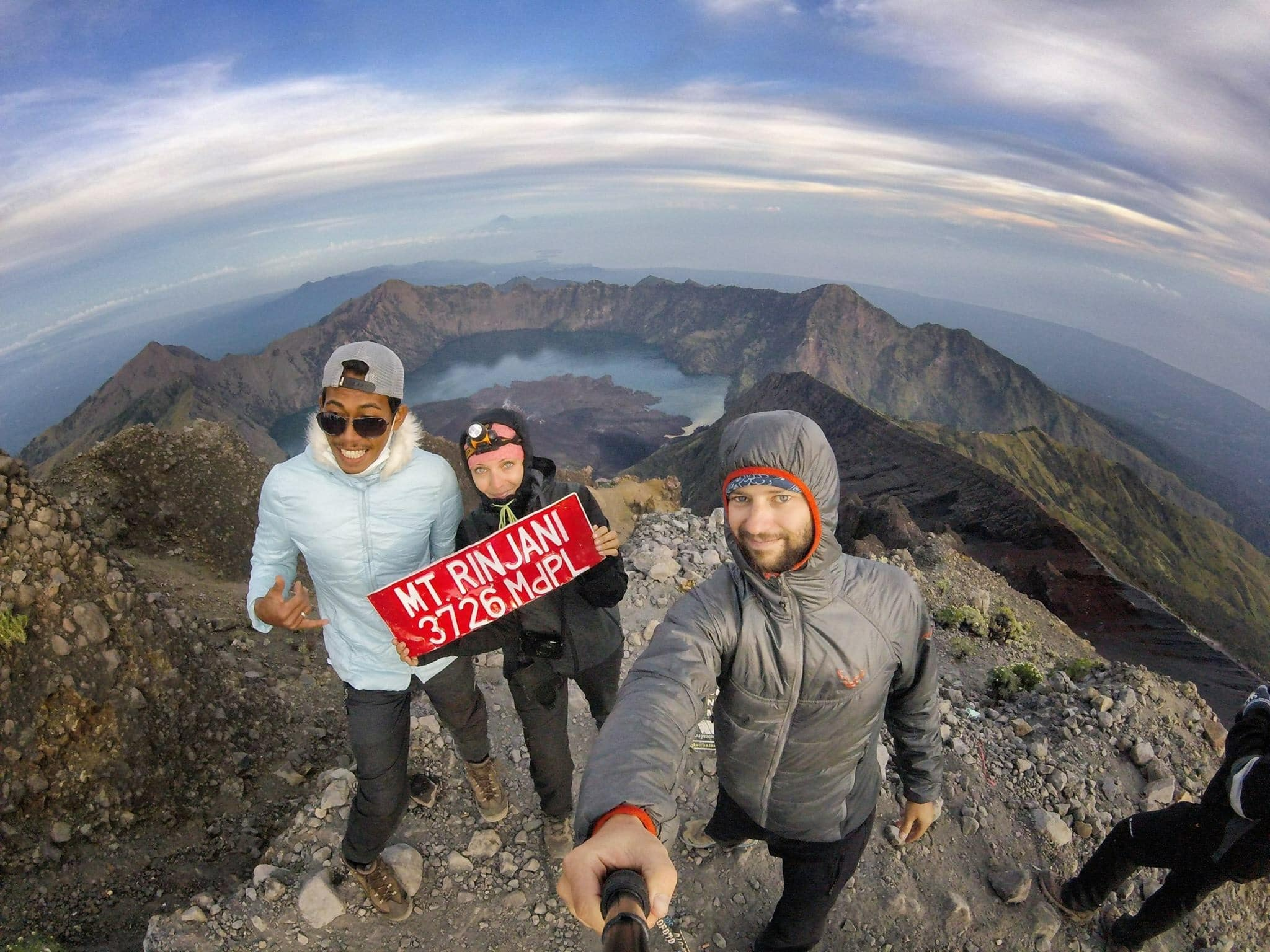 Rinjani Mountain With Bas Rinjani Trekking