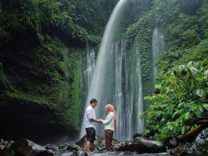 north lombok waterfall