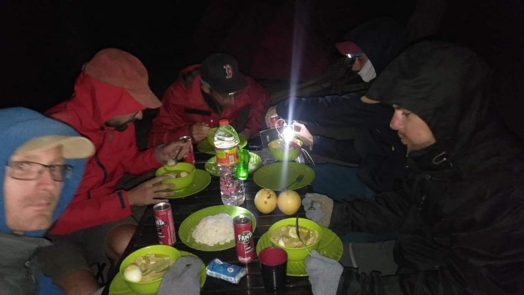 One night rinjani trek
